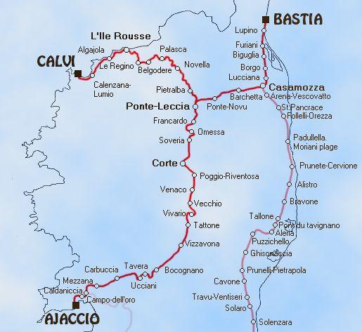 Railways with Zig Zags Europe